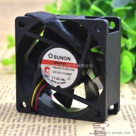 建准/sunon6025 MB60251V2-000C-G99 12V 0.89W 静音散热风扇