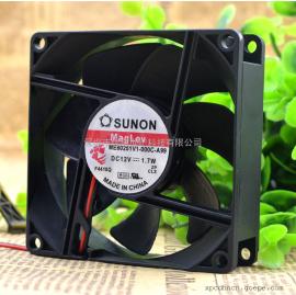 建准SUNON ME80251V1-000C-A99 12V 1.7W 8CM 8025 静音散热风扇