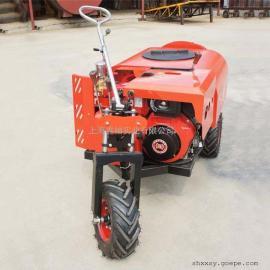 玛雅迷你三轮自走式柴油12马力桃园葡萄园柑橘园风送打药机
