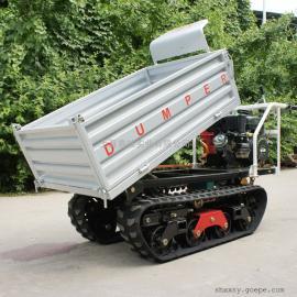 玛雅 WL-350全地形液压自卸柴油橡胶履带山地果园翻斗运输车