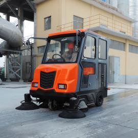 大型全封闭式驾驶式扫地清扫车工厂车间仓库物流工业电动扫地机