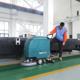 手推式洗地机YSD-530B工厂车间仓库清理地面灰尘油渍用吸干清洗