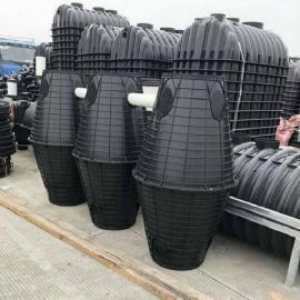 原平市 塑料双瓮化粪池可靠 双瓮化粪池 家用化粪池