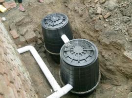 塑料双瓮化粪池信誉保证 PP化粪池 双瓮化粪池1.0L