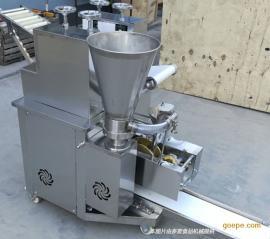 不锈钢仿手工水饺机锅贴成型机效果
