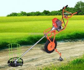 捍绿汽油手推式割草机 农用打草机割灌机打草除草机小型收割机