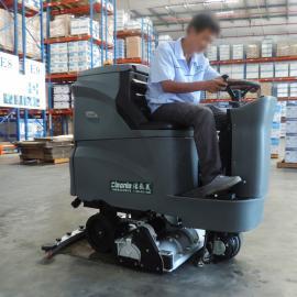 高美滚刷式洗地机 高美洗扫一体机GM110BTR80/ 青浦仓储物流用