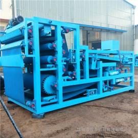 水泥陶瓷污泥处理设备不锈钢污泥带式压滤机 善丰自动带式压滤机
