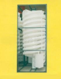 胶州选矿设备 平度PP螺旋溜槽 莱西塑料螺旋溜槽 滕州选煤溜槽