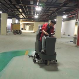 仓库食品厂汽车配件工厂新厂保洁开荒用高美驾驶 洗扫一体洗地机