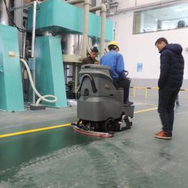 家具工厂仓库专用洗地车GMRMINI洗地扫地吸干多功能洗地车