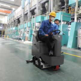 驾驶式洗扫一体机静安学校操场工厂 扫地拖地洗地吸干机GMRMINI