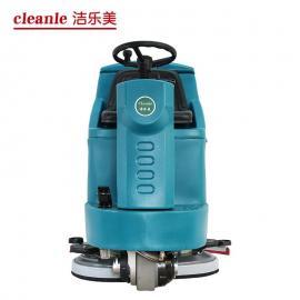 驾驶式洗地车工业工厂洗地车全自动地面洗地吸干车电动洗地机