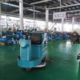 方向盘式洗地机电瓶拖地机驾驶式洗地车洗地吸干机工厂车间保洁