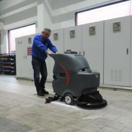 GAOMEI工厂手推式洗地机GM56B静音型医院学校洗地机闵行