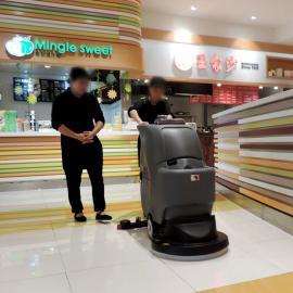 高美GM56B静音型工厂节能洗地机医院手推式洗地机商场洗地机