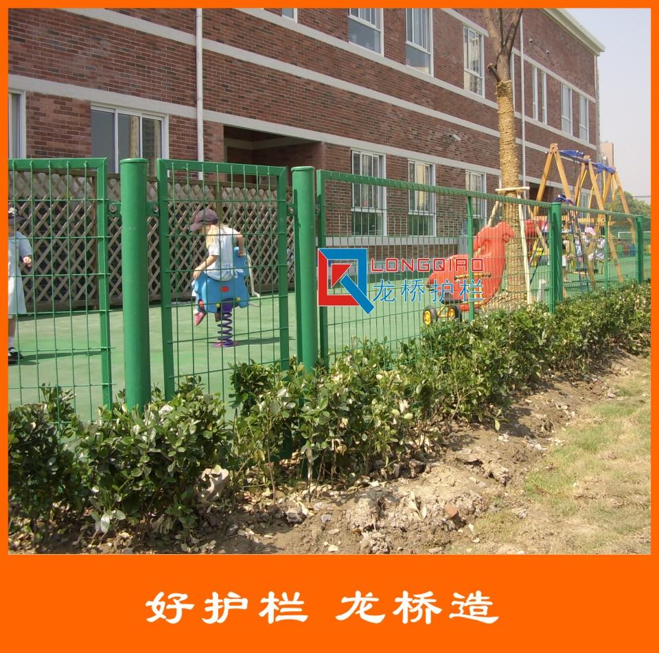 护栏网厂 护栏网生产厂 裹塑铁丝网 按需定制 龙桥护栏厂销