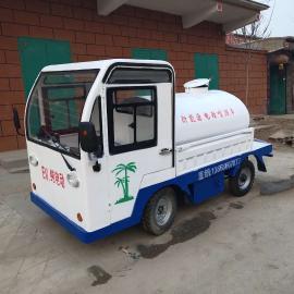小型三轮电动洒水车环保电动四轮洒水车
