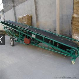三相电倾斜用圆管主架可调高低皮带输送机