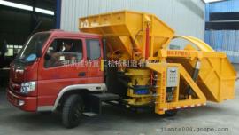 建特重工*新产品 JPC-S车载式自动上料喷浆机组