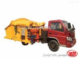 建特重工-混凝土喷浆车/自动上料喷浆机丨一拖二单斗新品促销