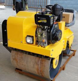液压座驾式双轮压路机 振动压路机工厂 自行式回填土碾压机