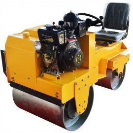小型座驾式振动压路机 座驾式双轮震动压路机