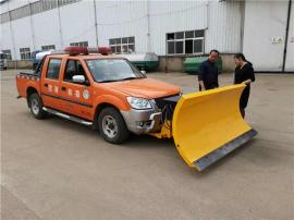洒水车装2.5米推雪铲