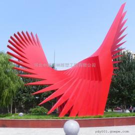 抽象动感雕塑 广场景观雕塑 城市不锈钢雕塑