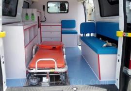 福田G7转运型救护车可同时乘座7人