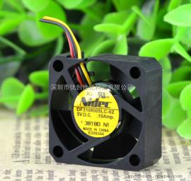 原装 Nidec 3CM 3010 DF310R105LC-02 5V 0.10A三线静音散热风扇