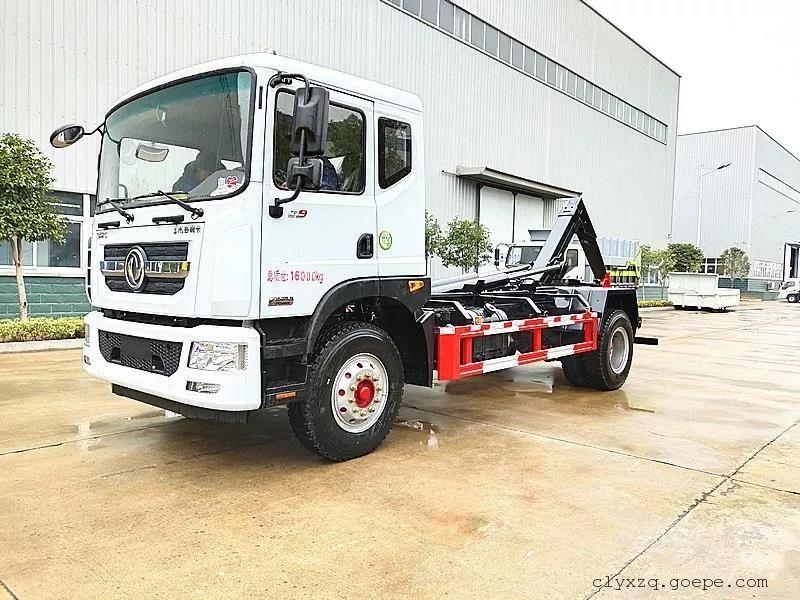 16吨东风多利卡D9勾臂垃圾车
