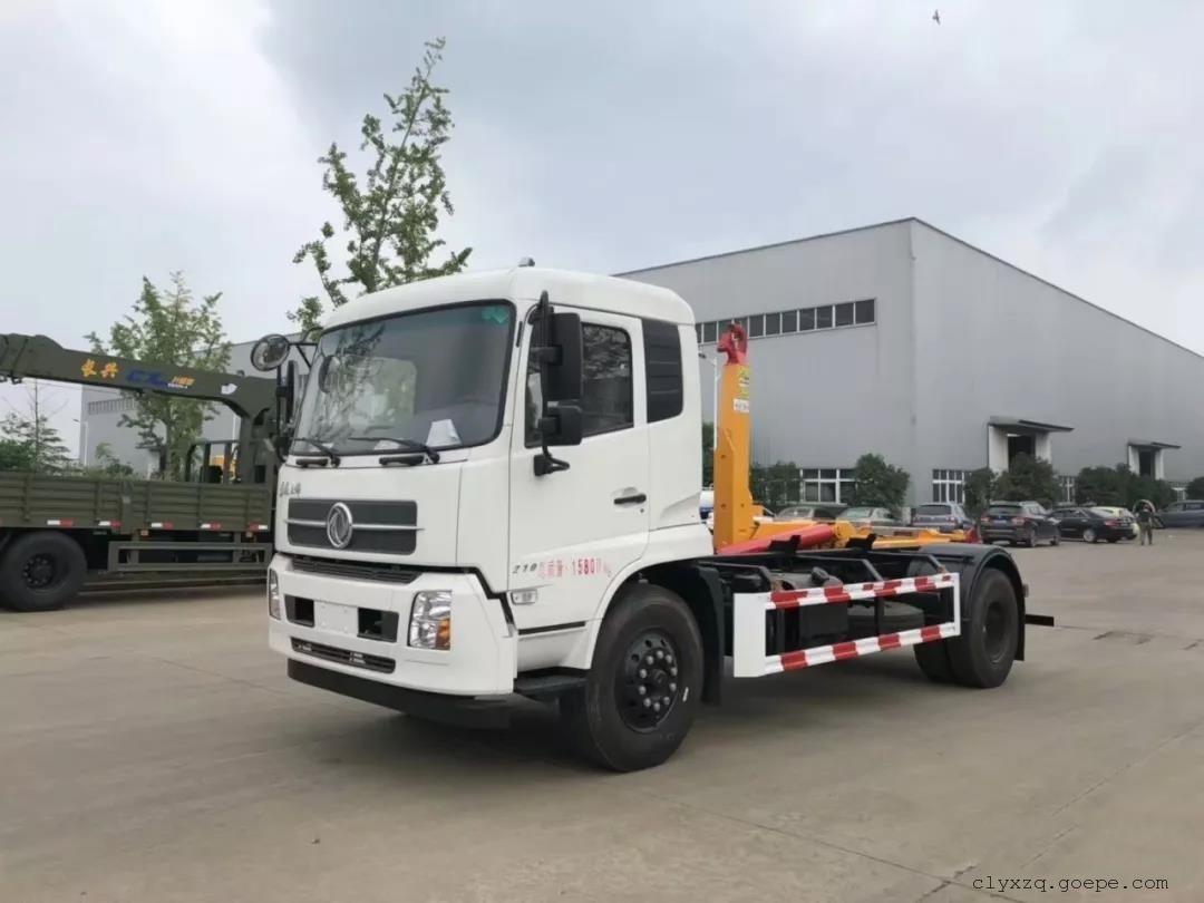 东风天锦16吨勾臂垃圾车