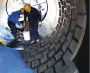 优质砖混烟囱内壁防腐