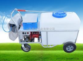 捍绿240-48V三缸柱塞泵推车电动喷雾器 防疫消毒园林喷雾器