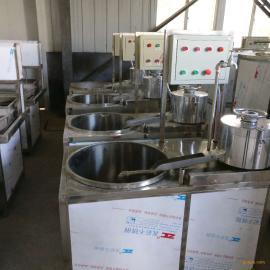 全自动新型不锈钢节能环保大豆腐机器盛隆提供