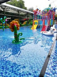 造浪池 儿童乐园戏水池 水上乐园滑道 大喇叭 多种游乐设备