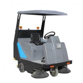小区地面清扫灰尘树叶用扫地机|嘉航驾驶式道路清扫车