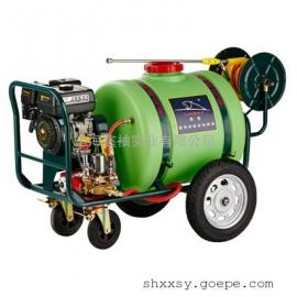 捍绿HL-120/160 推车式动力喷雾机 高压农用喷雾器 果树打药机