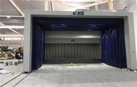 昆山移动喷漆房专业制作生产 伸缩式移动喷漆房设计方案
