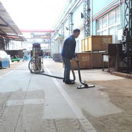 大面积保洁用吸粉尘颗粒用吸尘器 强力工业吸尘设备模具车间吸尘