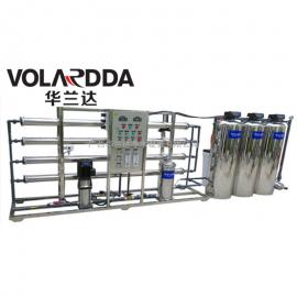 全自动不锈钢2T/H反渗透纯净水设备 华兰达承接各种水处理工程