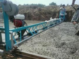 水泥路面振动梁 6米框架式整平机 混凝土马路摊铺机