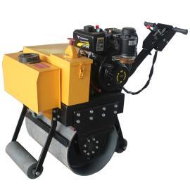 微型单轮压路机 柴油压实机械 小型压路机沟槽回填压实机