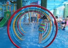 儿童水上乐园戏水池 水上乐园螺旋滑道 大喇叭 多种游乐设备