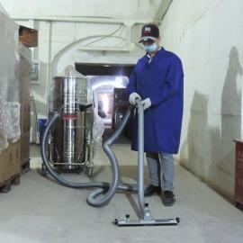 三相380V大功率车间仓库用干湿两用工业强力吸尘器 工业吸尘器