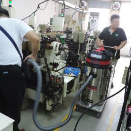 交直流两用洁乐美电瓶式工业吸尘器 车间无线充电式吸尘器1500W