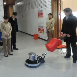 cleanle/���访�YH1052多功能刷地�C17寸地毯清洗�C手推式擦地�C