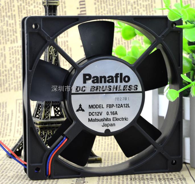 panaflo松下 12025 12V 0.16A FBP-12A12L 12025 12CM 散热风扇