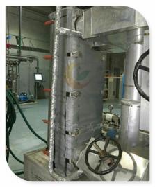 换热器保温套 管式换热器保温衣 可拆卸换热器保温罩 隔热效果好